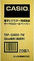 (まとめ買い) カシオ 感熱紙ロールペーパー TRP-5880H-TW 【×3】