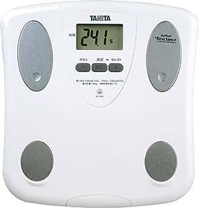 TANITA 体脂肪計付ヘルスメーター ホワイト BF-046-WH