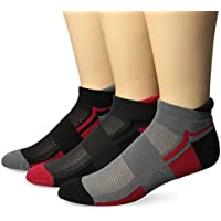PowerSox mens P110010 3-pack Powerlites No Show Socks With Moisture Control Socks