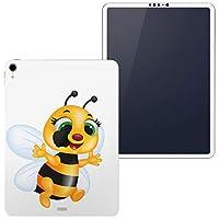igsticker iPad Pro 12.9 inch インチ 専用 apple アップル アイパッド 2018 第3世代 A1876 A1895 A1983 A2014 全面スキンシール フル 背面 側面 正面 液晶 タブレットケース ステッカー タブレット 保護シール 人気 イラスト 蜂 キャラクター 005973