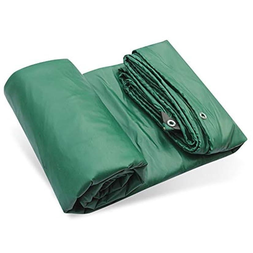 聴く取り替える南方のアウトドア ターポリンターポリン3つの抗布PVC布レインターポリンカーターポリンコーティングターポリンキャンバスソフトPVC布日焼け止めターポリン テント (Color : Green, Size : 500*700cm)