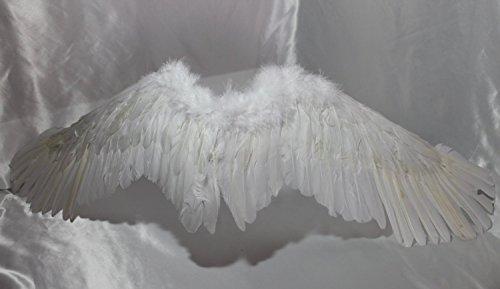 天使の翼 コスチューム用小物 ホワイト 男女共用 全長120cm弱