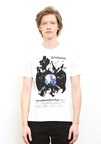 (グラニフ) graniph ベーシックTシャツ/レコードオブアニマルズ (ホワイト) S