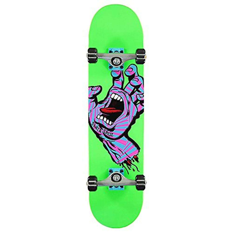 【サンタクルーズ SANTA CRUZ スケートボード コンプリート】SCREAMING PARTY HAND COMPLETE【7.75インチ】