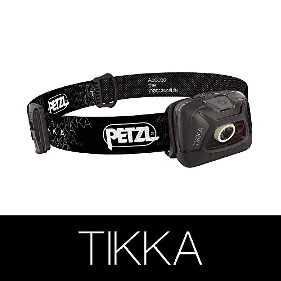 君主制メッセンジャーパンダPETZL (ペツル) TIKKA ティカ E93 AA ブラック         メーカー説明書付き(日本語あり) [並行輸入品]
