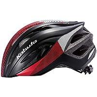 OGK KABUTO(オージーケーカブト) ヘルメット RECT (レクト) G-1マットブラックレッド サイズ: M/L