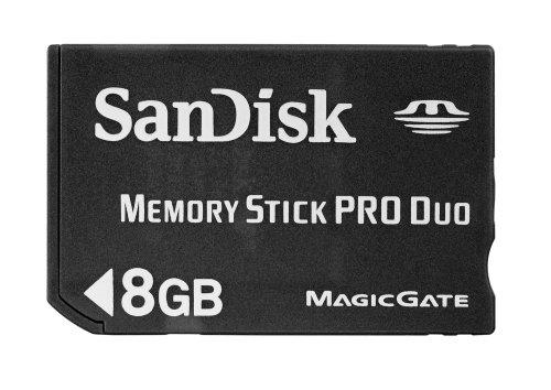 SanDisk MemoryStick Pro Duo 8GB SDMSPD-8192-J95