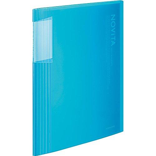 コクヨ ファイル クリアファイル ノビータ A4 40枚 青 ラ-N40LB