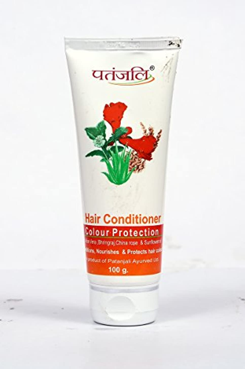 名門表示呪いPatanjali Hair Conditioner Colour Protection, 100g