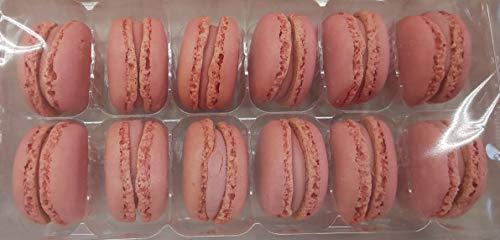 冷凍 マカロン ストロベリー 324個(12個×3P×9箱) 業務用 冷凍 他にチョコレート、ピスタチオ、バニラ、レモンの取り扱いあります。