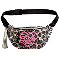 Justice Girls Live Justice Cheetah Flip Sequin Belt Bag