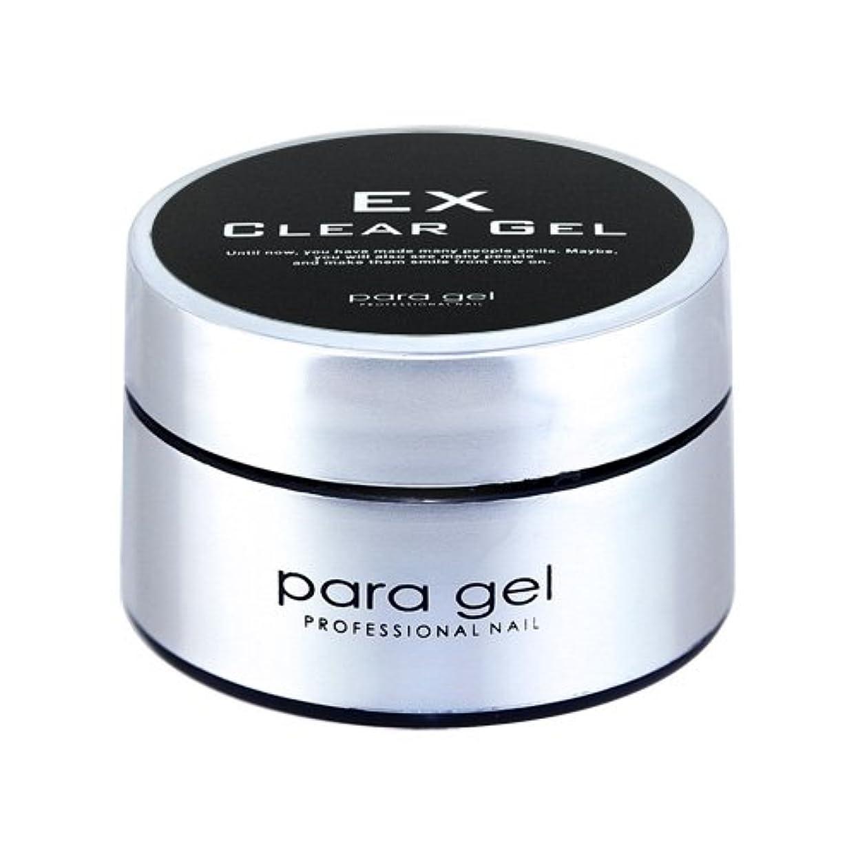 洪水嫌がる連想パラジェル(para gel) クリアジェルEX 4g