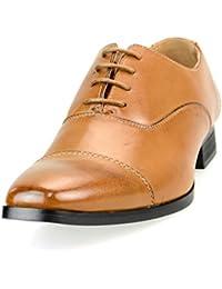 [ルシウス] LUCIUS メンズ ドレスシューズ レースアップ ビジネスシューズ 紳士靴【AZ315B】