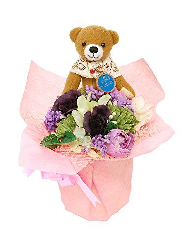 誕生日 プレゼント 女性 人気 かわいい 花束 フラワーポッ...
