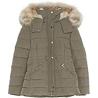 Zara Women Puffer Coat with Hood 0518/046 Yellow
