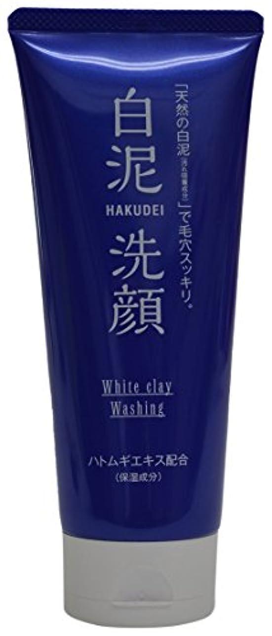 赤ちゃん揮発性紫の熊野油脂 HAKUDEI 白泥洗顔フォーム 130g