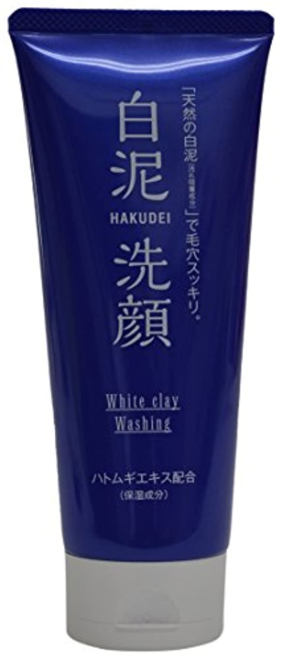 熊野油脂 HAKUDEI 白泥洗顔フォーム 130g