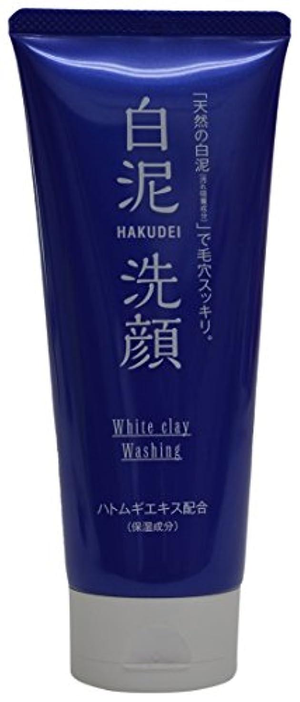 知事蒸留する準拠熊野油脂 HAKUDEI 白泥洗顔フォーム 130g