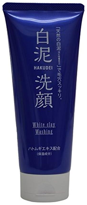 驚生活接続熊野油脂 HAKUDEI 白泥洗顔フォーム 130g