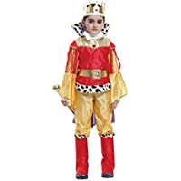 ChangNanJun Children Boys Halloween Dress Up & Role Play Costume Medieval Prince King Warrior Outfit