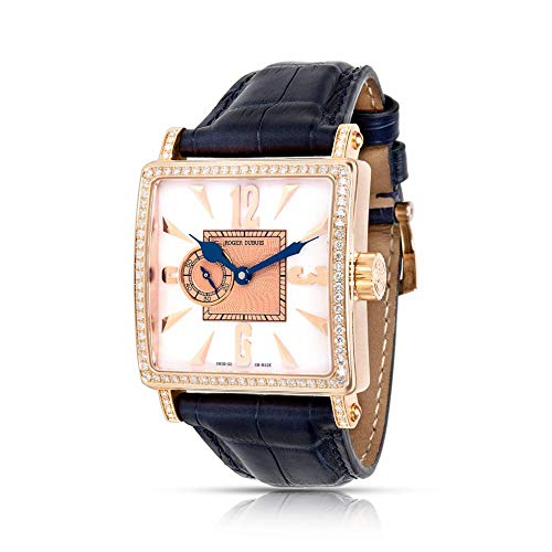 Roger Dubuis ゴールデンスクエアメカニカル手巻きメンズ腕時計 G34980 (認定中古品)