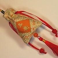 中華風飾り 風水縁起巾着型お香入り袋 中国雑貨