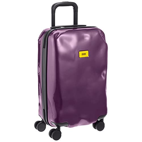 [クラッシュバゲッジ] CRASH BAGGAGE 取扱い注意不要スーツケースBRIGHT 機内持ち込みサイズTSAロック搭載 CB111 23 (PURPLE ELECTRIC)