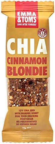 Emma and Tom's Chia Cinnamon Blondie 35 g