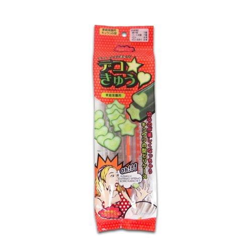 カネコ種苗 きゅうりの型 デコきゅう星とハート2本セット
