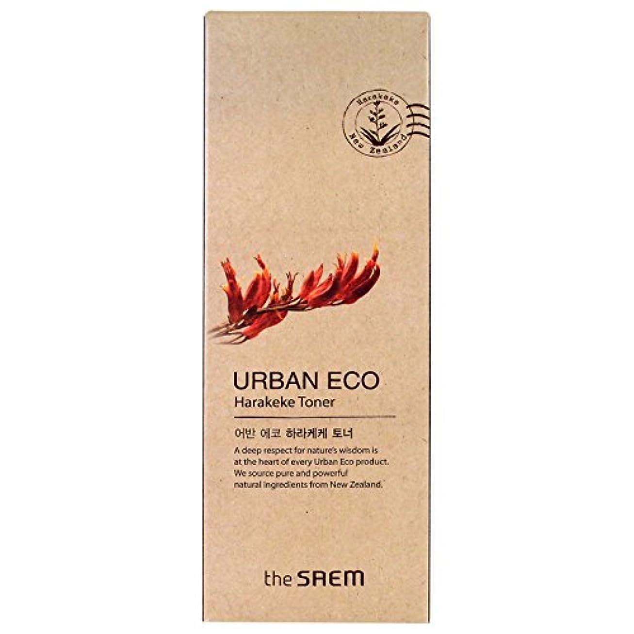出席するご飯費用THE SAEM ザセム アーバン エコ ハラケケ トナー Urban Eco Harakeke Toner 180ml 【高保湿 化粧水 韓国コスメ】