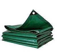 Cvbnl タープヘビーデューティ防水性、耐磨耗性ファブリック、ハウスキャンプなどに最適です,green_3x5m
