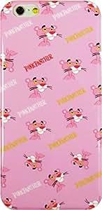 ★液晶保護フィルム付き★ PINK PANTHER iPhone6 4.7インチ TPU ケース 【PINK PATTERN】  / ピンクパンサー キャラクター スマホケース アイフォン6 アイフォンケース