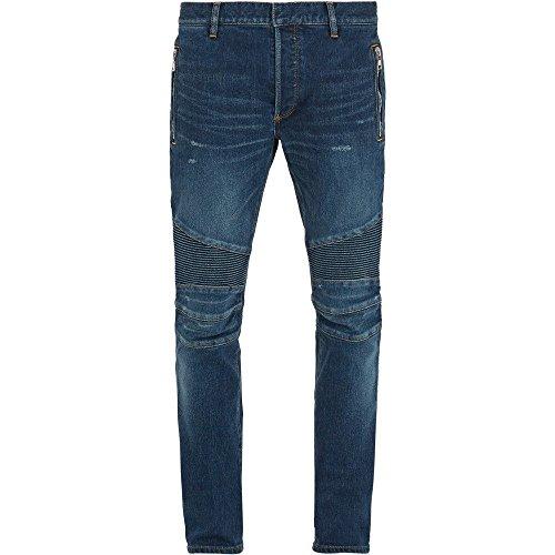 (バルマン) Balmain メンズ ボトムス・パンツ ジーンズ・デニム Zip-detail biker skinny-leg jeans 並行輸入品