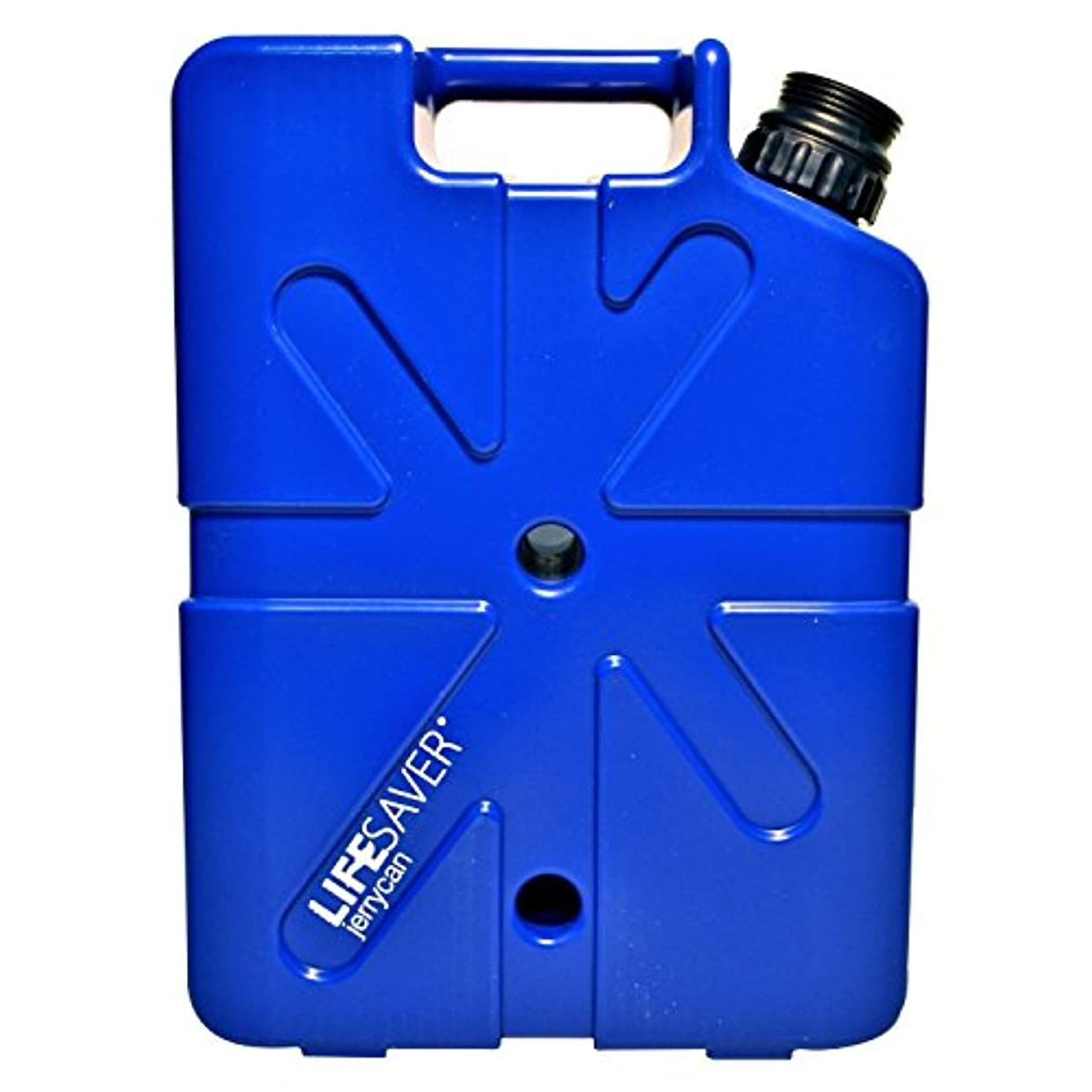 スクレーパーお風呂を持っているラベルLIFESAVER Expedition Jerrycan Water Filter (20,000UF) by Lifesaver