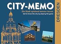 City-Memo. Das Dresden Spiel: Die Stadt spielerisch kennenlernen. 30 Sehenswürdigkeiten mit Beschreibung und Stadtplan. Für 2 - 6 Spieler ab 4 Jahren