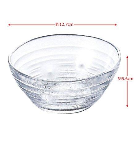 ガラス製 鉢 みなも 中鉢 3個セット P-37301-JAN
