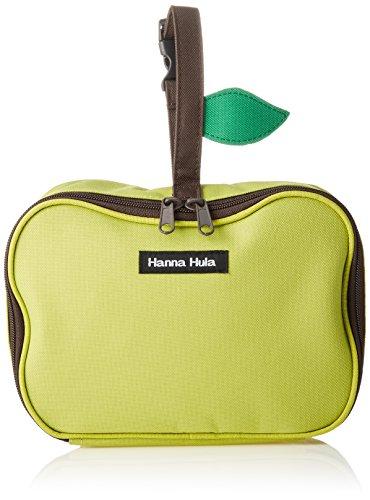 ハンナフラ(Hanna Hula) おむつポーチ(マルチポーチ) アップルグリーン