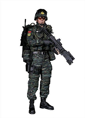 中国人民武装警察部隊 雪豹突撃隊 隊員 1/6 アクションフィギュア 78052
