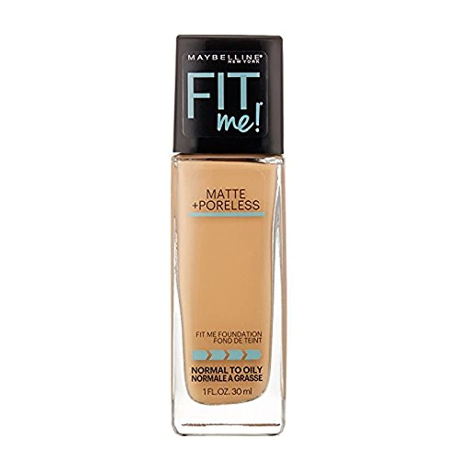 カルシウム損なう群れ(3 Pack) MAYBELLINE Fit Me! Matte + Poreless Foundation - Sun Beige 310 (並行輸入品)