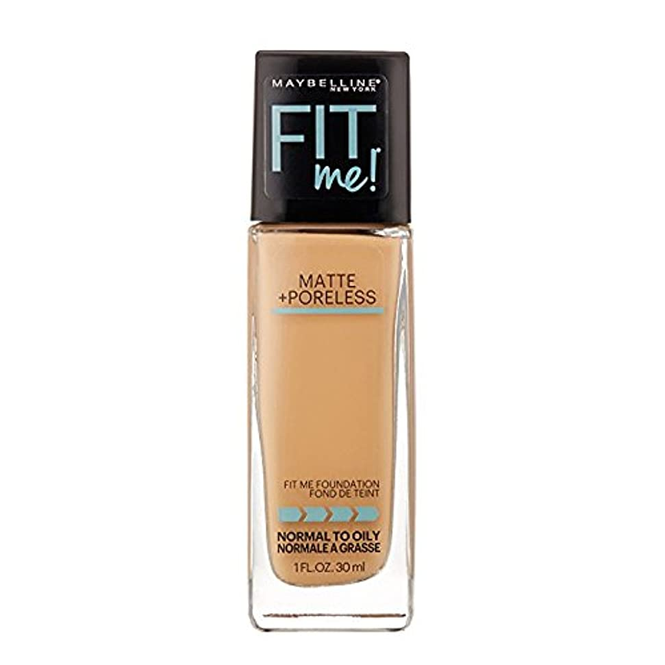 建設倍率硬さ(3 Pack) MAYBELLINE Fit Me! Matte + Poreless Foundation - Sun Beige 310 (並行輸入品)