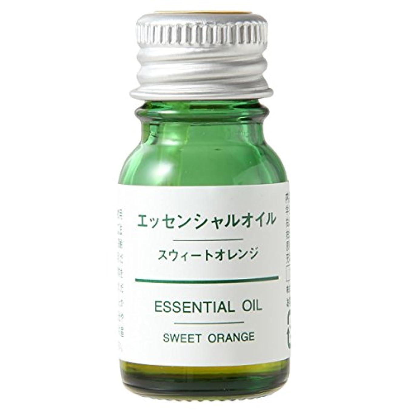 セメントアコーどう?無印良品 エッセンシャルオイル・スウィートオレンジ (新)10ml
