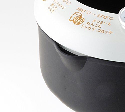天ぷら鍋 温度計付き 日本製 あげた亭 20cm SH9257 3枚目のサムネイル