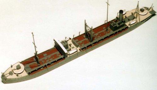 ピットロード 1/700 日本海軍 給油艦 襟裳 W61