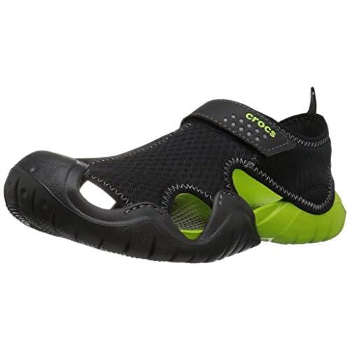 [クロックス] サンダル スウィフトウォーター サンダル 15041 Black/Volt Green US M8(26 cm)