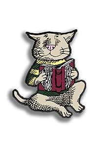 "Arcane Vaultのエドワード・ゴーリー"" CAT & Book""ピンチボタン"