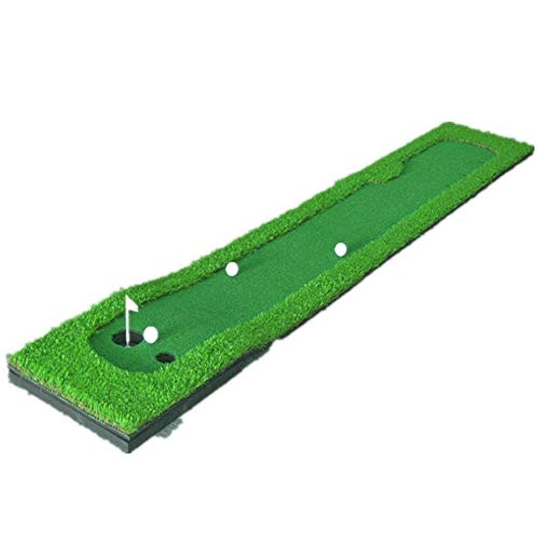 枯渇する秋系譜パッティンググリーン TrainerIndoorアウトドアエクササイザ練習ゴルフグリーンズゴルフホーム屋内オフィスゴルフスロープ ゴルフ練習用マット (色 : 緑, Size : 50x300x4cm)