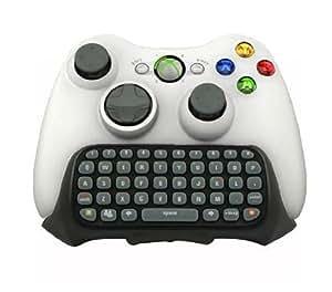 (イケンディ)Ecandy Xbox 360のライブゲームのコントローラーのためのメッセージングパッドキーボードチャットQWERTY配列 (黒い)