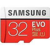 Samsung EVO Plus 32GB microSD Memory Card UHS-I U1 95MB/s with Adapter, (MB-MC32GA/APC)