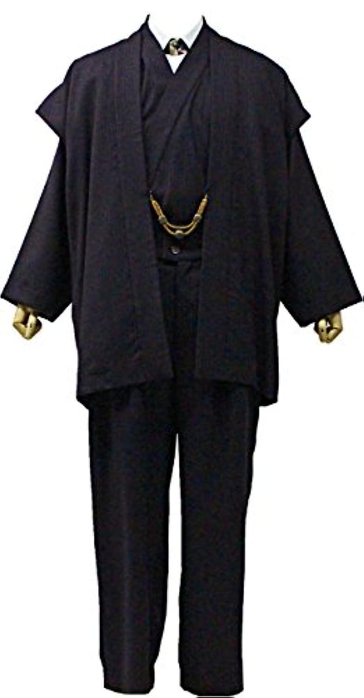 一杢 着物スーツ メンズ ウール Mサイズ G510 N1922
