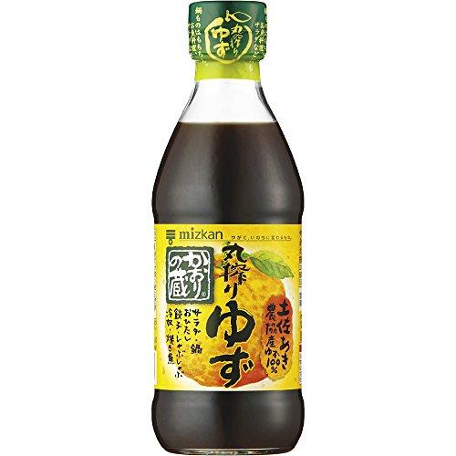 mizkan(ミツカン)『かおりの蔵 丸搾りゆず』